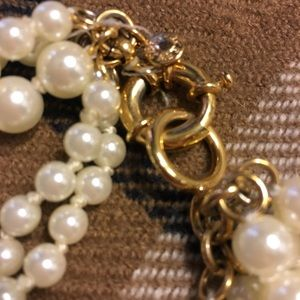 J. Crew Factory Jewelry - JCrew Pearl Cluster Necklace